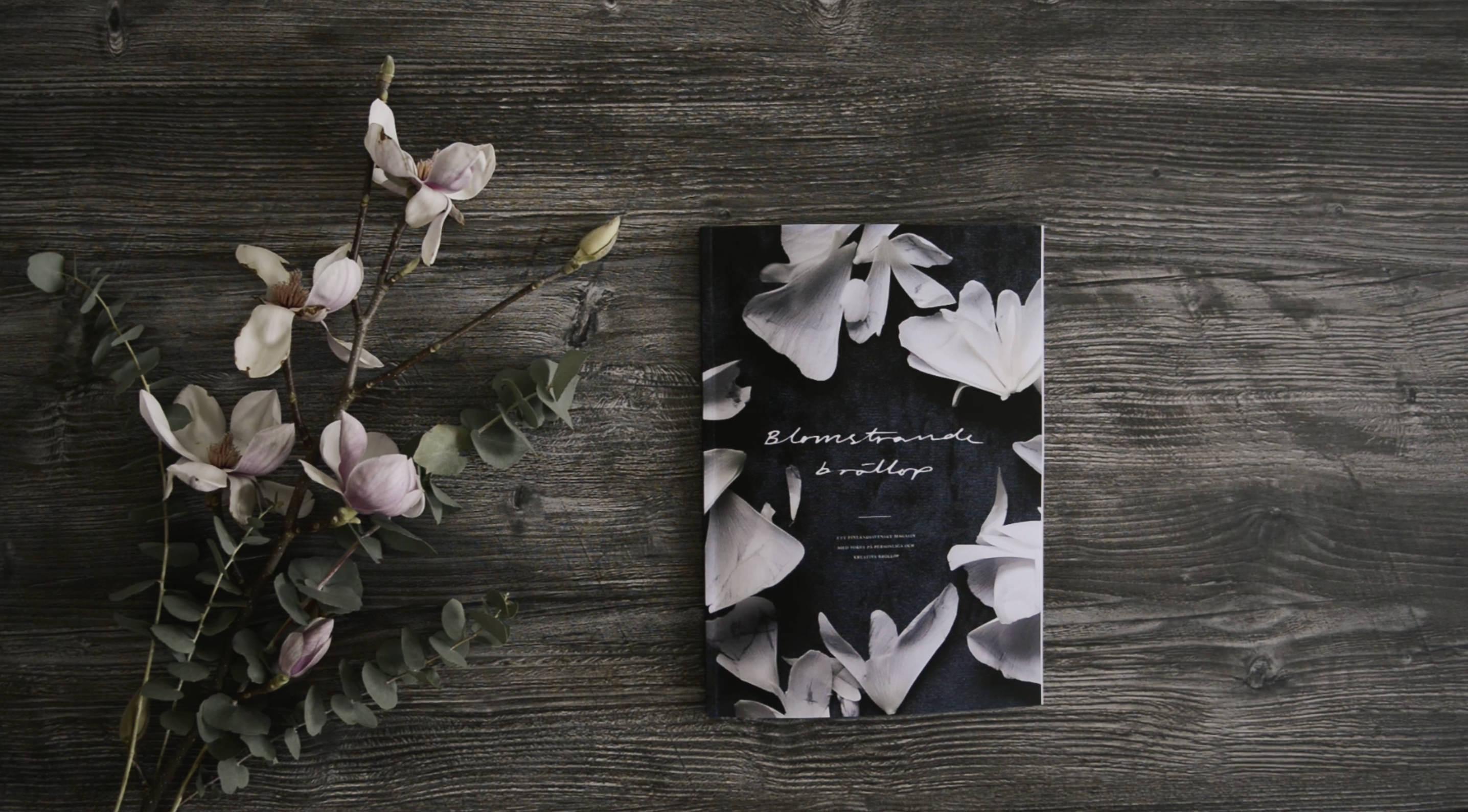 Blomstrande bröllop wedding magazine