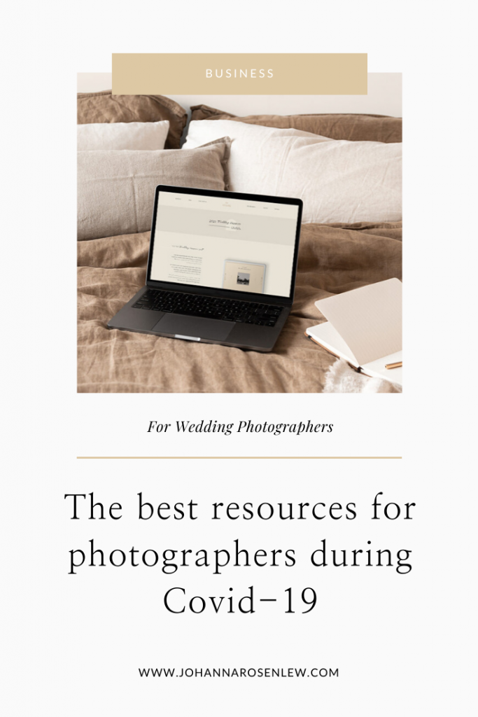 The best resources for photographers during covid-19 Johanna Rosenlew